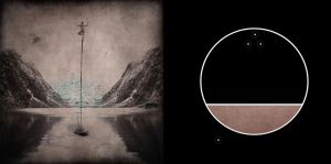 precarious juggler (colour) diptych by M-orever