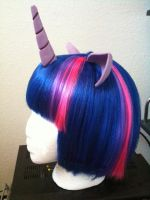 Twilight Sparkle Horn and Ears by Ayashii