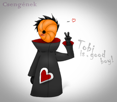 Tobi is a good boy! :3 by Kireyousei