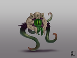 Champion Skin Concept- Deep Terror Vel'Koz by metalliam