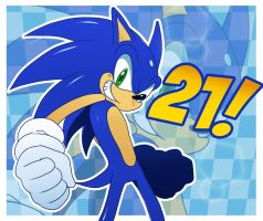 Sonic 21st by ss2sonic