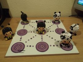 Noughts and Crosses game by sombra33