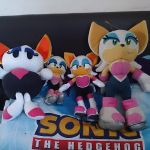 Rouge the Bat Plushies by Trowelhands