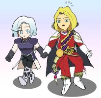 Garlyle Officers - Chibistyle by yamina-chan