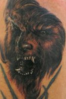 The Wolfman Tattoo by JamieMHenderson
