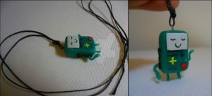 Polymer Clay Beemo by bayatfilm