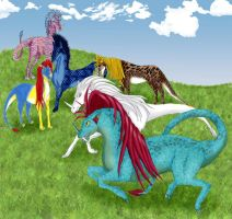 a Tribe of Splios by JessicaRaven
