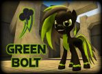 Green Bolt (Request - UPDATED) by T-553412