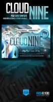 Cloud Nine PSD Flyer Template by ImperialFlyers