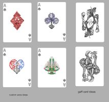playing cards: gaff card ideas by Wen-M