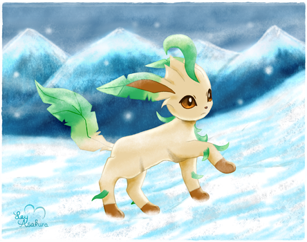Searching for Glaceon [Fan Art] by LeyAsakura