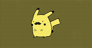PikaStache by johnfrickinblackmore