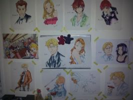My Baccano! wall. by Cheezdoodles