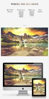 Where The Sun Rises Wallpaper Pack by PaulHectorT