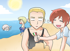APH- International Beach Party by BladeXD