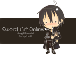 Sword Art Online Kirito by chibipiglet