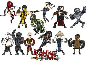 Kombat time again! by thelimeofdoom