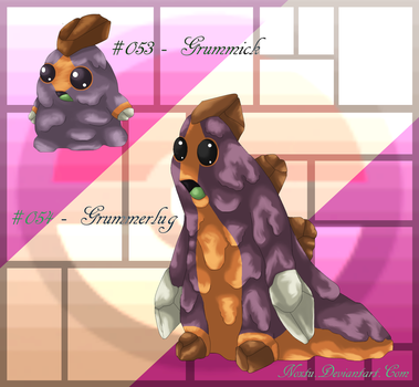Fakemon: G-G by Noxtu