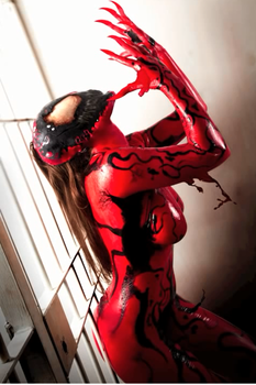Carnage Cosplay 2 - 9 by GhostXS