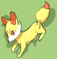 Fennekin by Cinnamon-Quails
