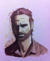 rick grimes by grizlyjerr