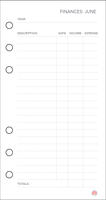 Free Planner Printable: Financial (Jun) by apparate