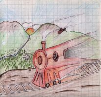 Ghost Train... sorta by skinsvideos21