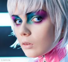 Sci fi make up by funfmarz