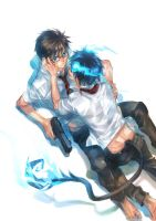6-29-ao no exorcist by egosun