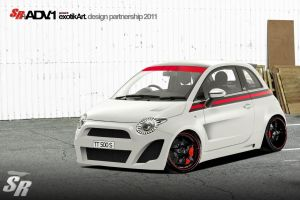 Fiat 500 RaceLimed by TTS by TeofiloDesign
