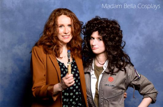 Ripley and Donna Noble (Catherine Tate) by MasterCyclonis1