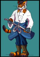Commie Ash Into Naruto Tiger 6 by Rex-equinox