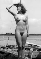 Classic Nude Model by NJDVINTAGE