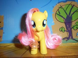 Little Filly Fluttershy by GoEatCheesecake