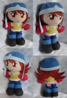 Commission, Mini Plushie Sora Takenouchi, S1 by ThePlushieLady
