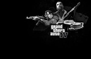 gta4 collage wallpaper by Doylah