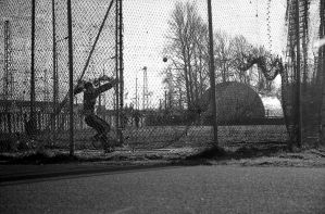 Woman - hammer thrower. by naic