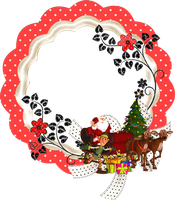 Merry Christmas Frame by mysticmorning