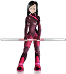 Code Lyoko Evolution - Yumi by FearEffectInferno