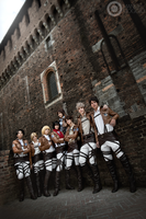 Troops .Shingeki no Kyojin cosplay by Giuzzys