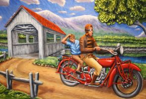 Motorcycle ride by cvezina