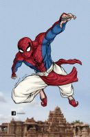 INDIAN SPIDERMAN by mdavidct