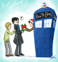 WhoLock Christmas SS by Fox7XD