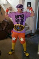 Macho Man Mania ready by emceelokey