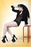 Red Stool2 by SarahInTortureland