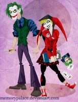 TDK Animated : Joker and Harl by memorypalace