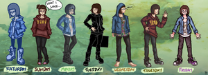 What I Wore by Spikings