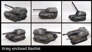 Krieg enclosed basilisk by the-Higgins