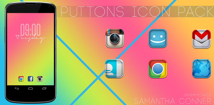Puttons Icon Pack by sammyycakess