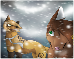 - There's a Snowstorm In Your Heart - by LeaTenshi